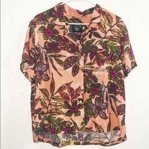 Jams world vintage Hawaiian tropical shirt